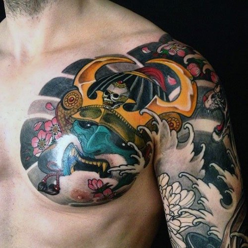 Badass Japanese Tattoos For Men