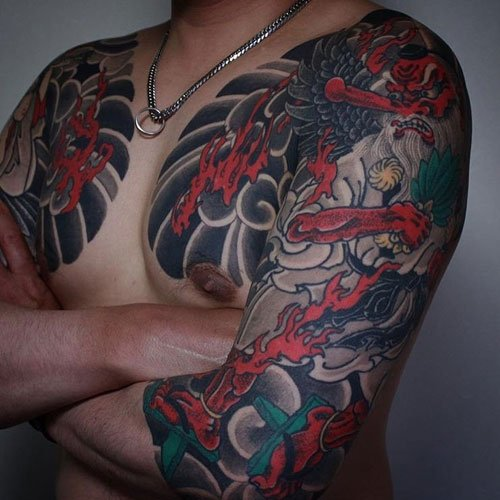 Best Japanese Half Sleeve Tattoo Ideas