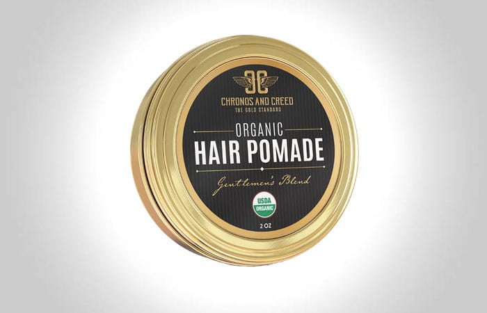 Chronos and Creed Organic Hair Pomade