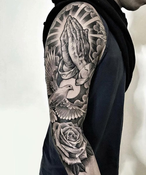 Cool Full Arm Tattoo Designs