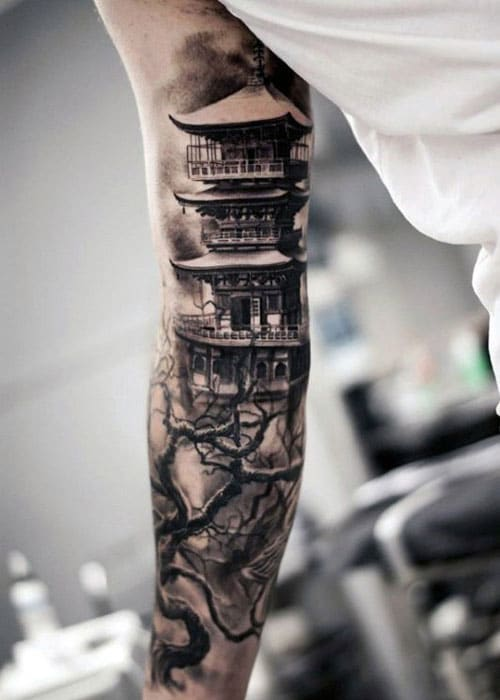 Cool Japanese Tattoo Designs For Men on the Arms