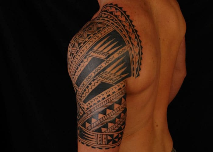 Cool Upper Arm Tattoo Designs