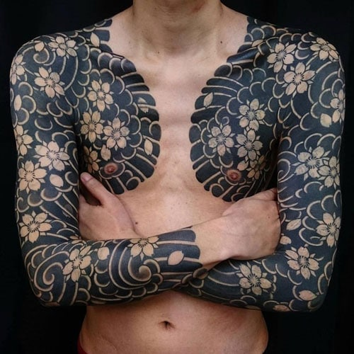 Creative Japanese Full Sleeve Tattoo Ideas