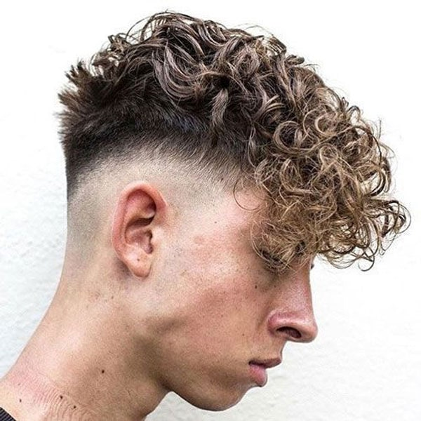 Curly Men's Hair