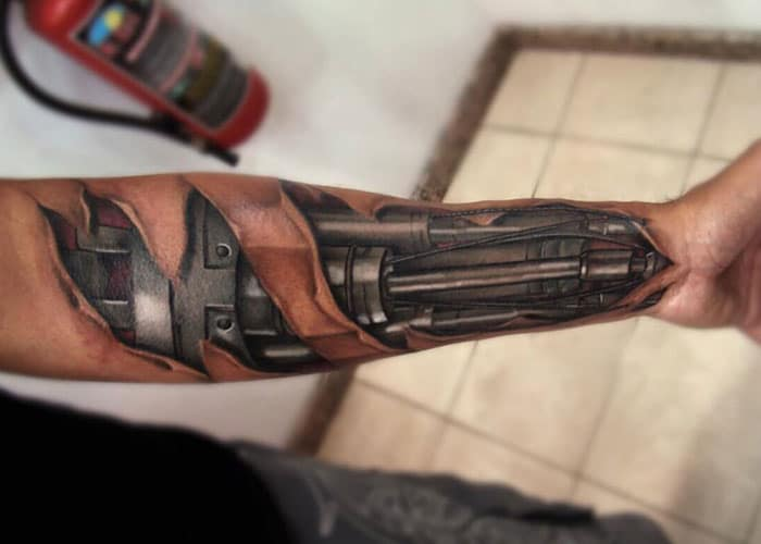 Front Arm Tattoo Designs For Men