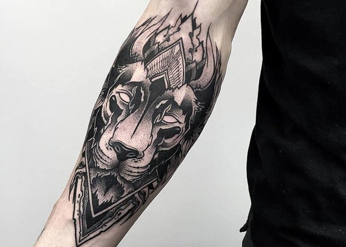 Front Arm Tattoo
