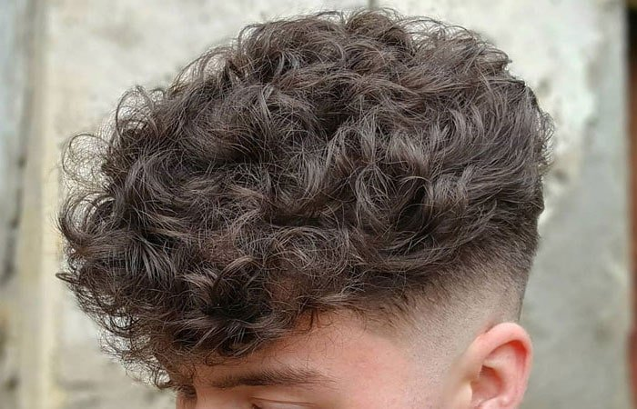 How To Make Men's Hair Curly