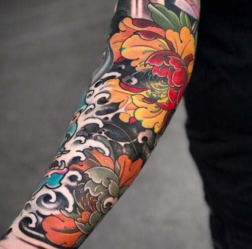 Japanese Forearm Tattoo