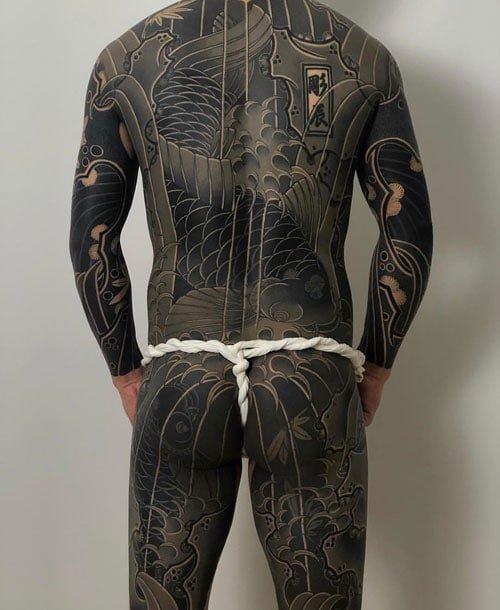 Japanese Full Body Tattoo Designs