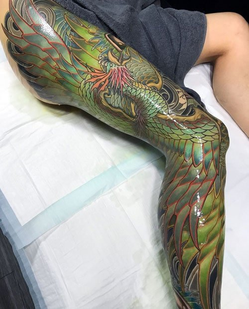Japanese Leg Sleeve