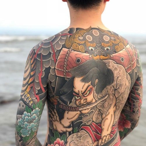 Japanese Style Tattoo Designs