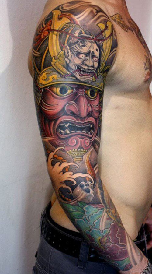 Modern Japanese Tattoo Ideas For Guys