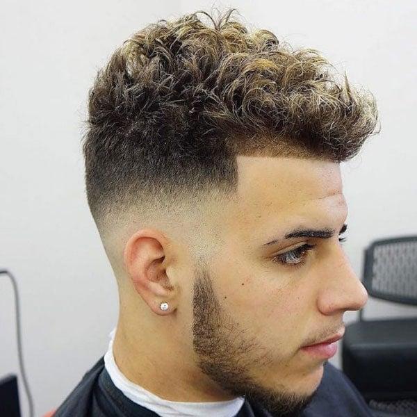 Short Curly Hair Men