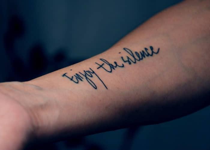 Simple Arm Tattoos