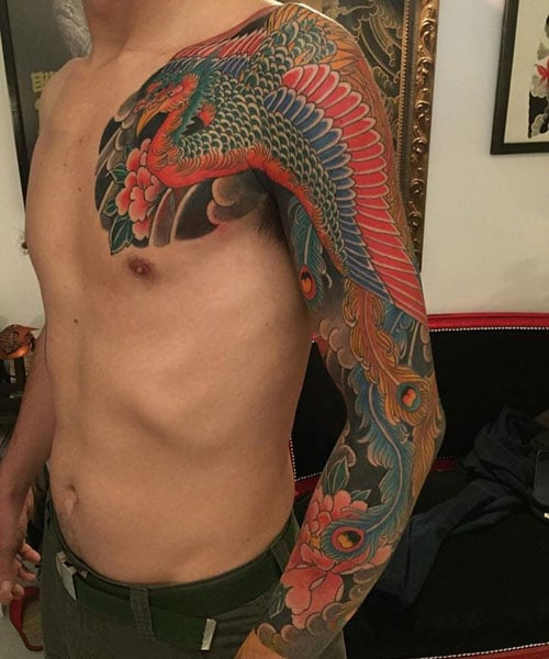 Top Men's Japanese Full Sleeve Tattoo Designs