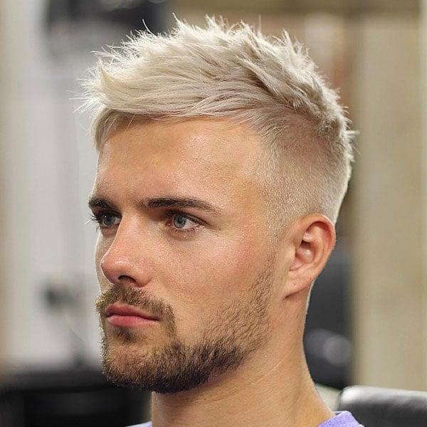 Ash Blonde Hair Men