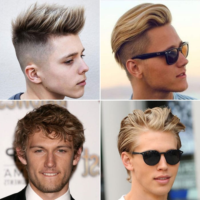 Blonde Hair Men