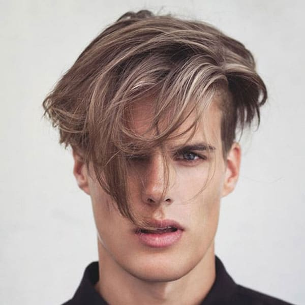 Blonde Highlights Men