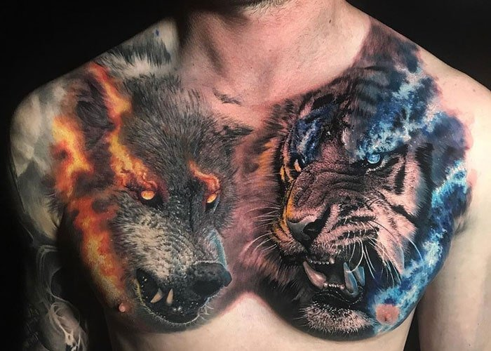 Chest Tattoo Cost