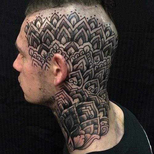 Cool Head Tattoos