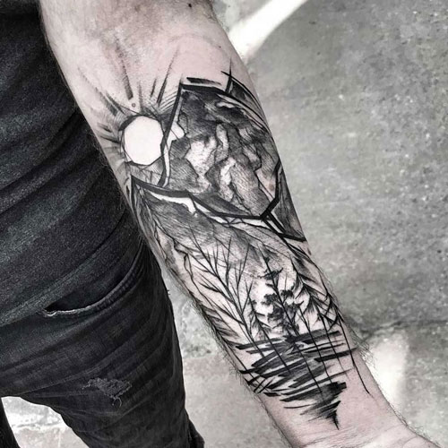 Cool Tree Tattoo Designs
