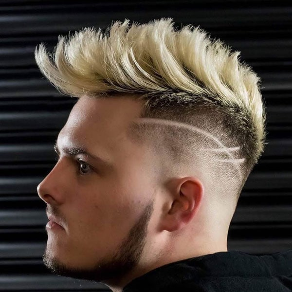 Mohawk Blonde Hair