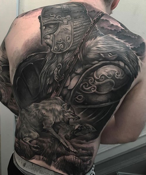 Norse God Tattoo