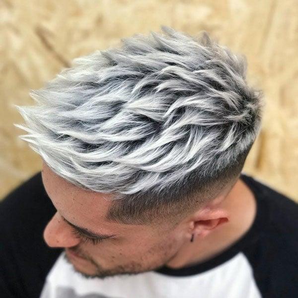 Platinum Blonde Hair For Men