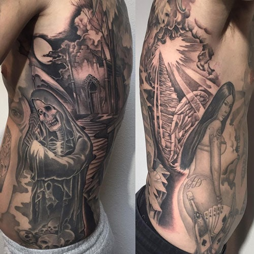 Ribs Tattoos