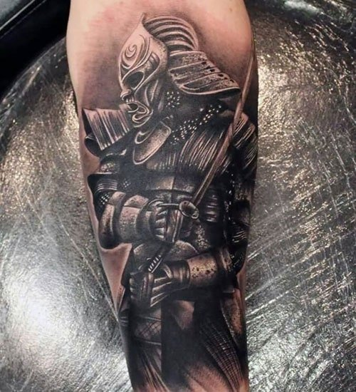 Samurai Warrior Tattoo