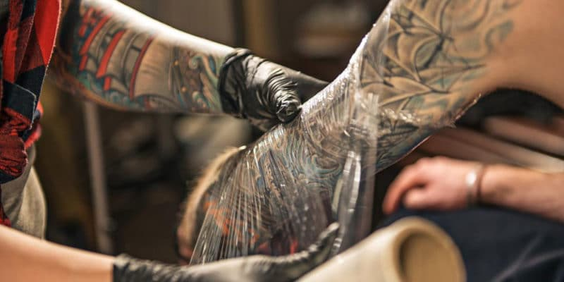 Tattoo Healing Process Stages