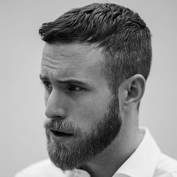 Best Short Men's Hairstyles For Receding Hairline