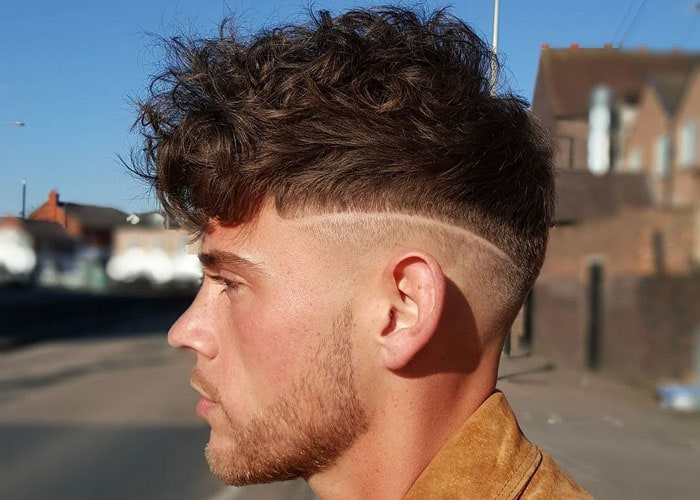 Curly Hair Fade Best Curly Taper Fade Haircuts For Men
