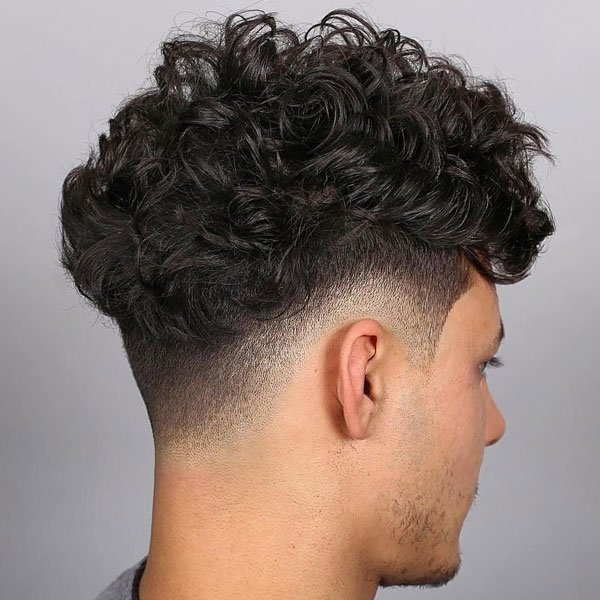 Curly Hair Fade Best Taper