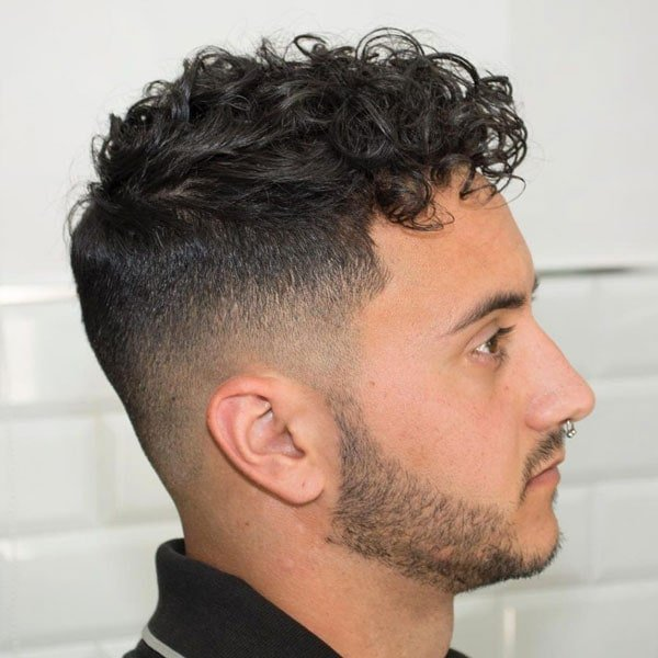 Curly Hair Fade Best Curly Taper Fade Haircuts For Men 2020 Guide