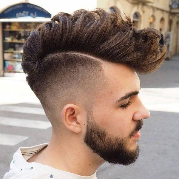Receding Hairline Faux Hawk