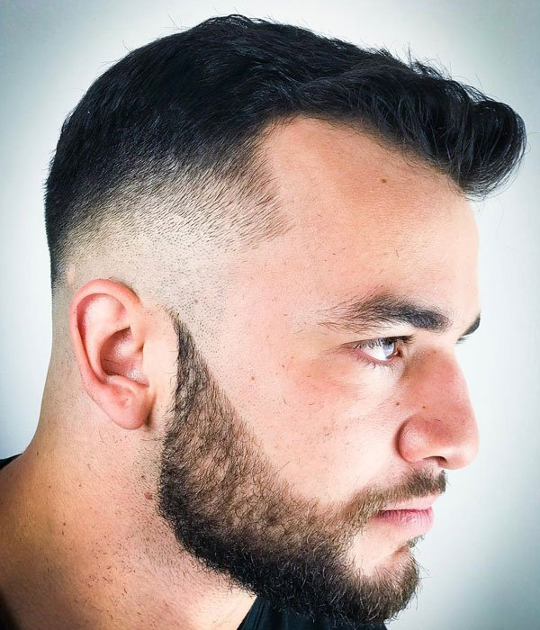 Short Haircuts For Guys with Receding Hairlines