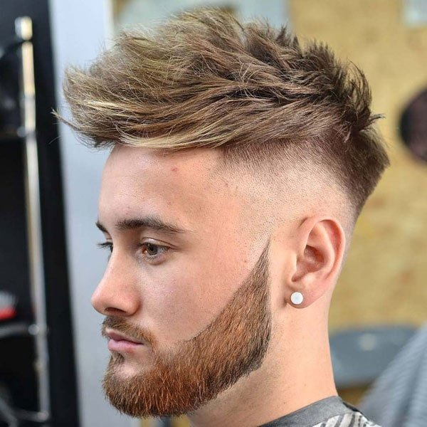 Bald Fade Undercut Haircut