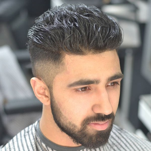 Blowout Fade Haircut