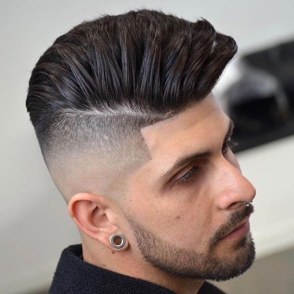 High Fade Undercut Haircut