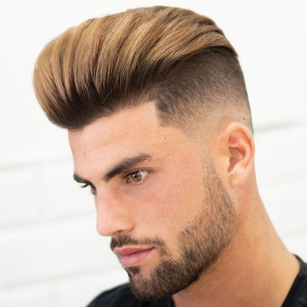 Men's Undercut Fade Haircut