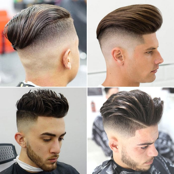 Types of Undercut Fade Haircuts