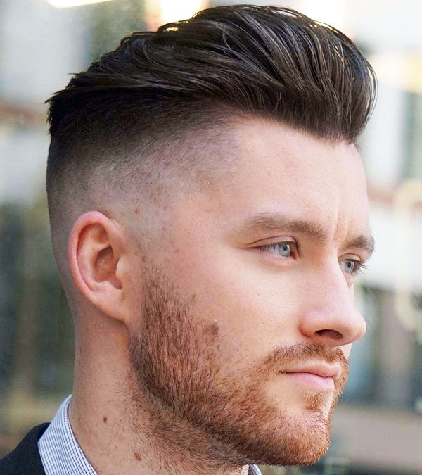 Undercut Fade Long Hair
