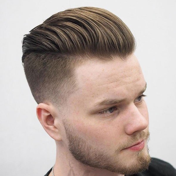 Undercut Taper Fade Haircut