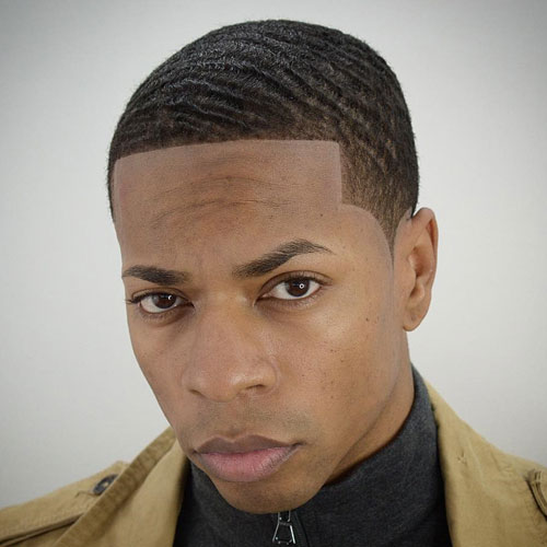 360 Waves Haircut with Edge Up