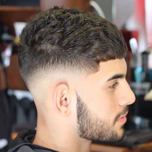 Caesar Hairstyle