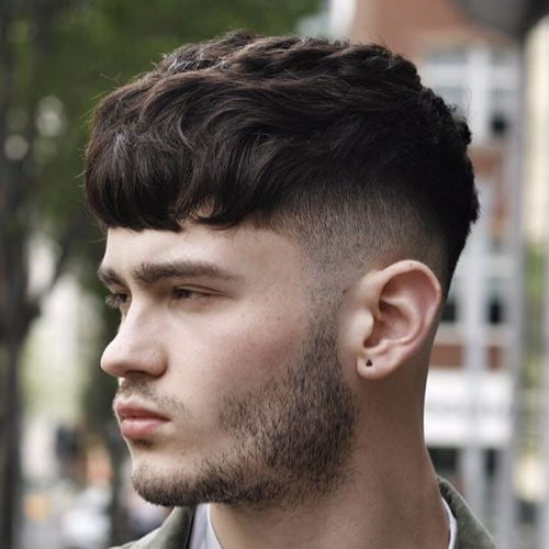 Caesar Style Haircut