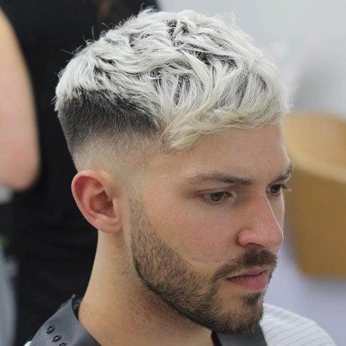 Messy Caesar Haircut