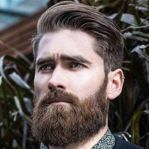 Undercut with Beard