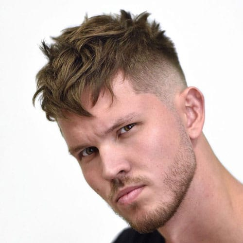 Choppy Hair Bangs For Men